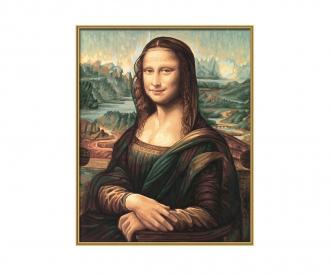 Mona Lisa Malen nach Zahlen