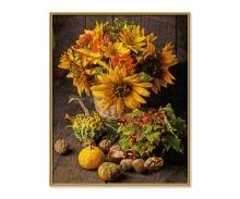 Buntes Herbst-Stillleben