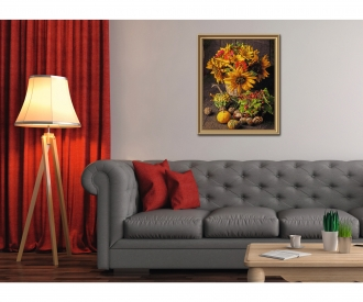 Still life in autumnal colors