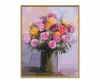 Bunch of Roses in Pastel Colors