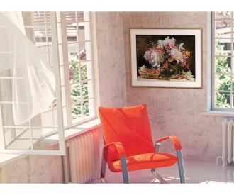 Bouquet de fleurs avec cerises