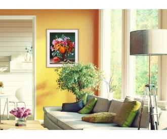 Herbstimpressionen Malen nach Zahlen Vorlage