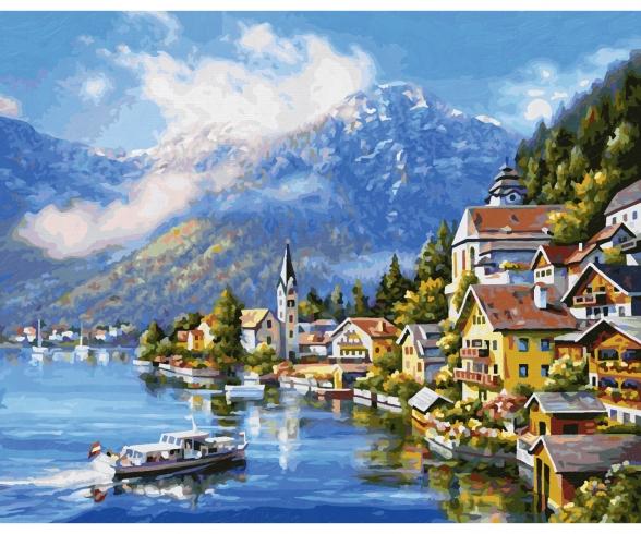 By Lake Hallstatt