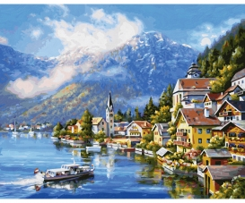 By Lake Hallstatt