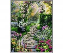 Mein schöner Garten Malen nach Zahlen Vorlage