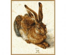 Young Hare based on Albrecht Dürer 1471 - 1528