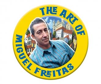The Big Apple - nach Miguel Freitas Malen nach Zahlen Vorlage