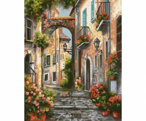 Dreamy alleyway