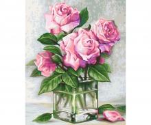 Rosen für Dich Malen nach Zahlen