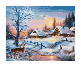 Paysage hivernal