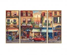 Paris Nostalgie Malen nach Zahlen