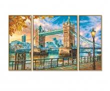 London Tower Bridge Malen nach Zahlen