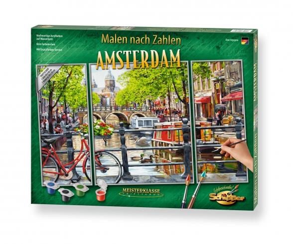 Amsterdam Malen nach Zahlen