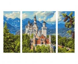 Schloss Neuschwanstein Malen nach Zahlen
