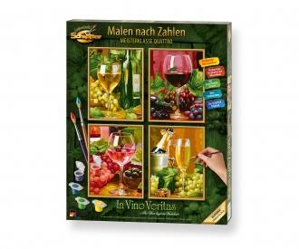 In Vino Veritas – Im Wein liegt die Wahrheit Malen nach Zahlen