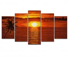 Coucher de soleil aux Caraïbes