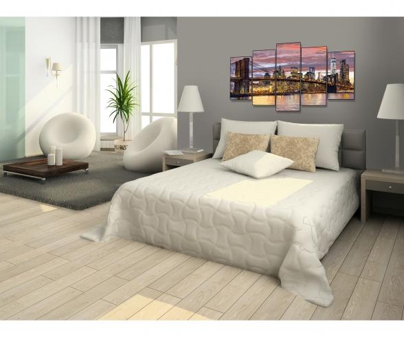 New York in der Morgendämmerung (Polyptychon) Malen nach Zahlen Vorlage