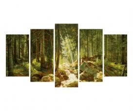 Unser Wald Malen nach Zahlen