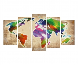 Colorful World  – Our world in a play of colors
