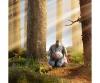 Disney Winnie l'Ourson Basic, peluche Bourriquet, 61 cm
