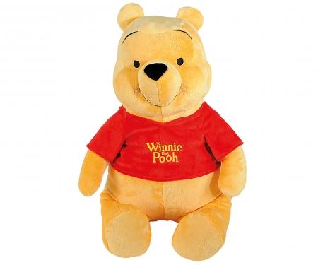 Disney Winnie l'Ourson Basic, peluche Winnie l'ourson, 80cm