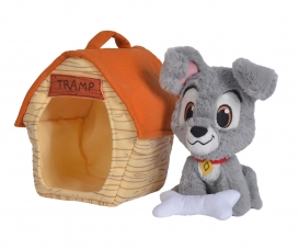 Disney Tramp and Kennel, 20cm