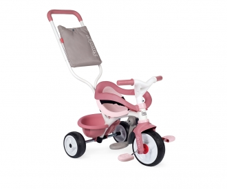 TRICYCLE BE MOVE CONFORT ROSE