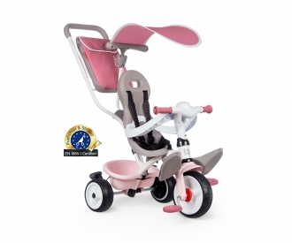 TRICYCLE BABY BALADE PLUS ROSE
