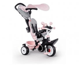 TRICYCLE BABY DRIVER PLUS ROSE