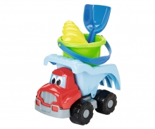 dump truck with accessories