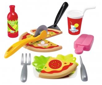 Ecoiffier Pizza-Set