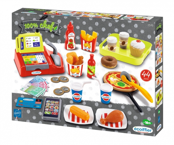 Caisse + accessoires fast food