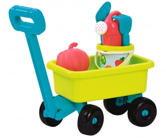 Ecoiffier Chariot retro Jardin garni