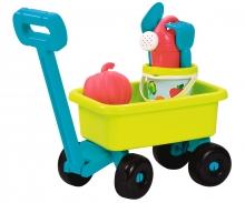 Ecoiffier Retro Gardentrolley with bucket set