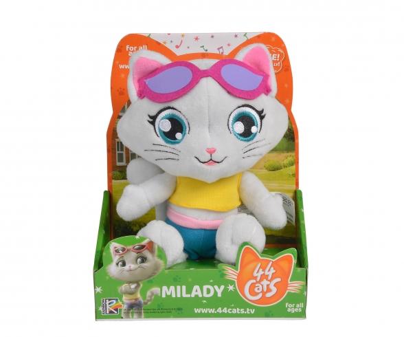 Smoby 44 Cats Plüschfigur Milady mit Musik