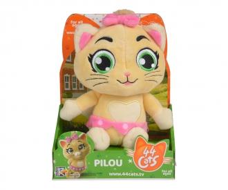 44 Cats peluche musicale Pilou