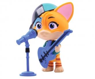 44 Chats figurine de Lampo avec guitare