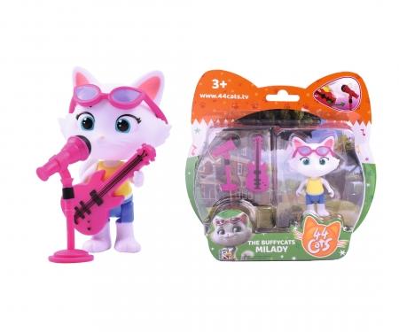 44 Cats Spielfigur Milady mit Bass-Gitarre