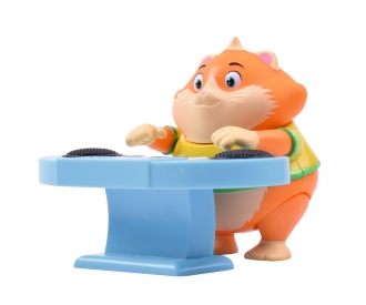 44 Cats Meatball figure with keyboard