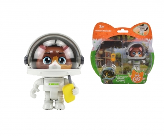 44 Cats Cosmo figure with space outfit