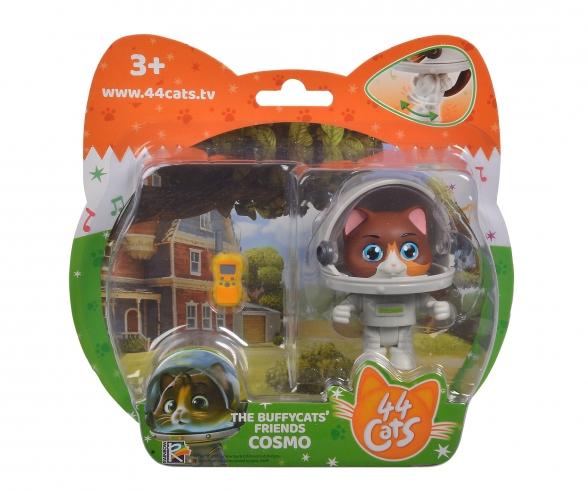 44 Cats figurine de Cosmo avec combinaison de cosmonaute