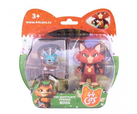 44 Cats Spielfigur Boss mit Roboterhund
