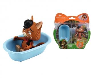 44 Cats figurine de Stink avec baignoire