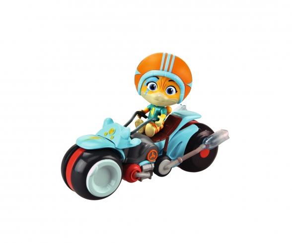 Smoby 44 Cats Spielfigur Lampo mit Motorrad