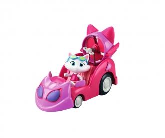 Smoby 44 Cats Spielfigur Milady mit Auto