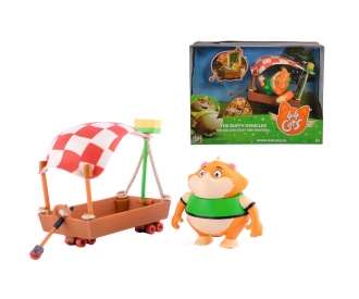 44 Cats Meatball figure with boat