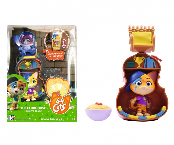 44 Cats Décor de jeu + Figurine Lampo