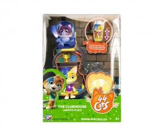 Smoby 44 Cats Spielset Deluxe + Spielfigur Lampo