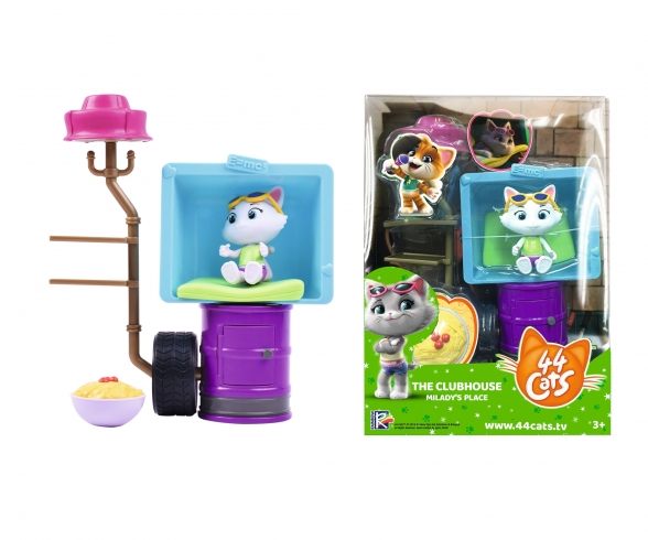44 Cats Deluxe toy set + Milady figure