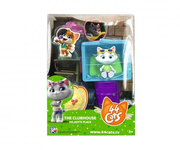 Smoby 44 Cats Spielset Deluxe + Spielfigur Milady